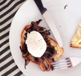 poached eggs soft