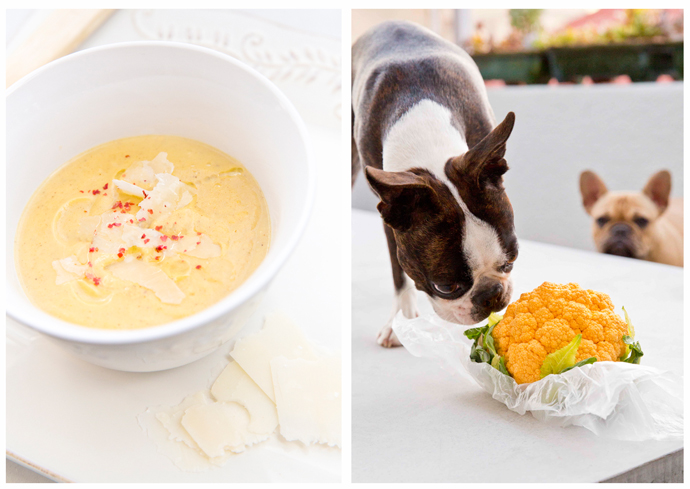 Orange Cauliflower Soup